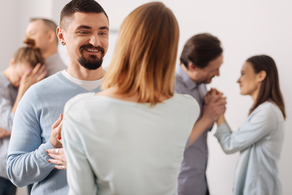men and women group therapy at the drug rehab center in nicholson ga